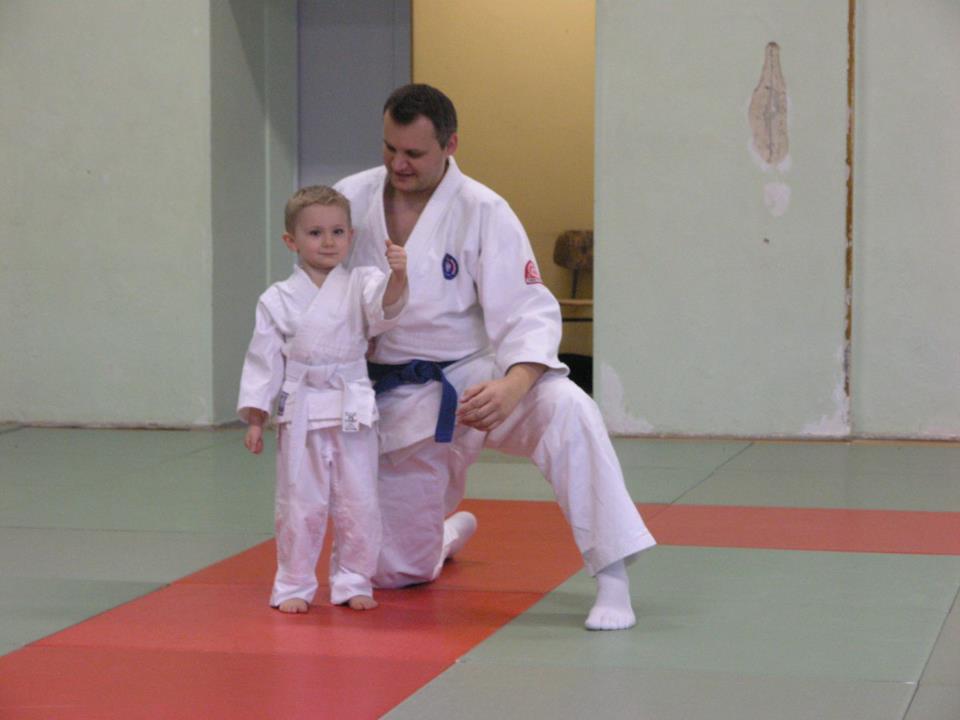 Start des Ju Jitsu Trainings